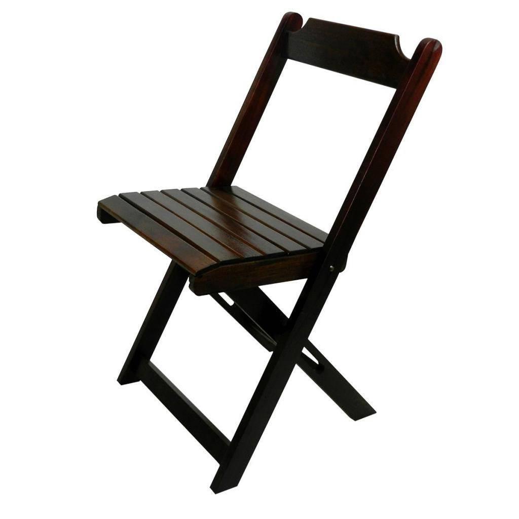 Imagem Assento de Madeira Dobrável