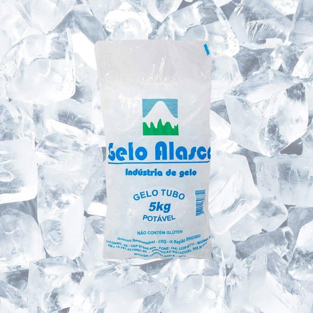 Imagem de Gelo Escama e Filtrado