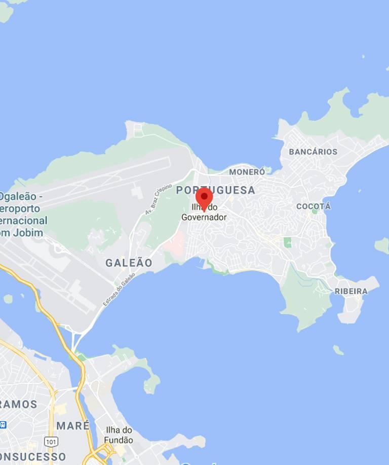 Imagem Ilha do Governador RJ